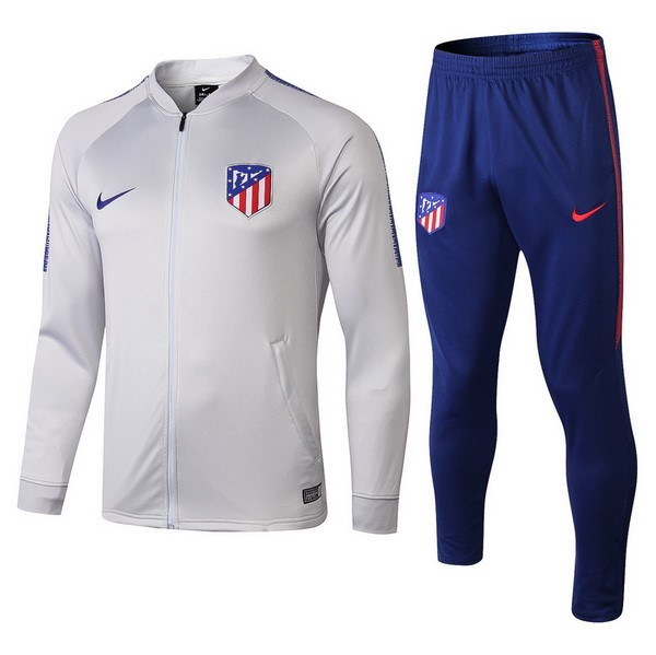 Chandal Atletico Madrid 2018/2019 Gris Claro Replicas Futbol